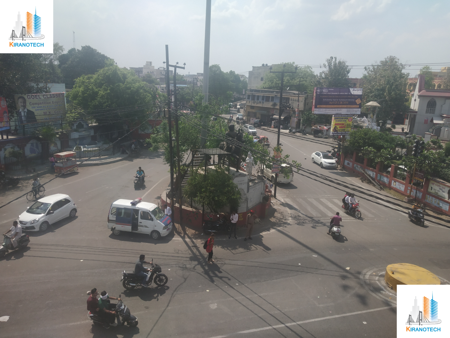 Junction Improvement and Traffic Signaling Work in Meerut (UP) (2019)