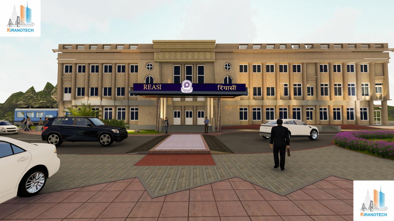 Development of integrated master plan for reasi & sangaldham railway station under udampur srinagar to baramulla