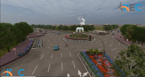 Development of Corridor Improvement for Identified Area for 35 Km Long Stretch In Prayagraj City (U.P)